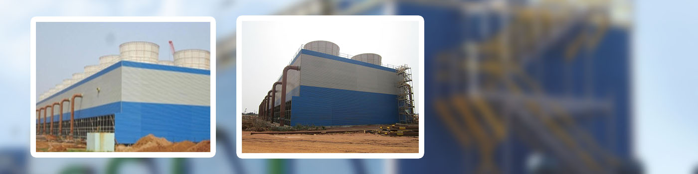 cooling 1 - FRP Cladding for Cooling Tower