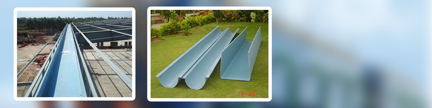FRP Moulding | FRP Industrial Products Gujarat | FRP Gutter