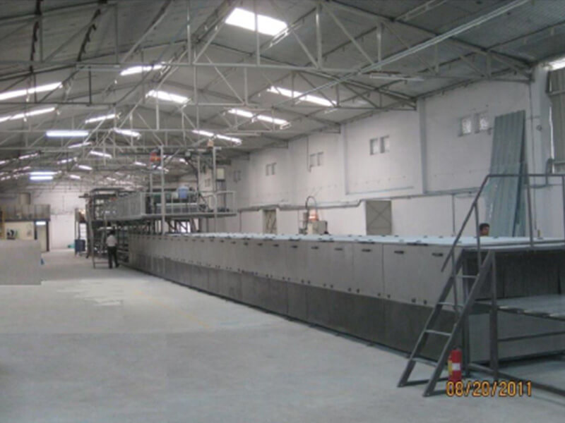 FRP panel Production Line with Automatic Gel Coating, GRP panel Production Line with Automatic Gel Coating
