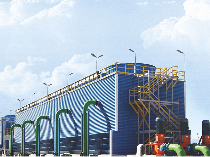 Cooling Tower, FRP Cladding