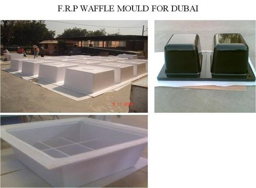 FRP Waffle Mould - FRP Moulding